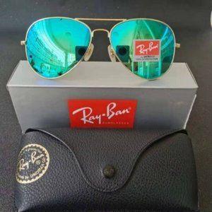 NWT Aviators Sunglasses Ray-Ban RB3026 62mm
